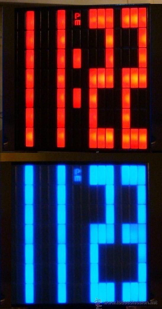 RELOJ CUBO DIGITAL DESPERTADOR SUPER-LEDS BRILLANTES ROJO (Relojes - Relojes Despertadores)