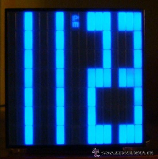 Despertadores antiguos: RELOJ CUBO DIGITAL DESPERTADOR SUPER-LEDS BRILLANTES ROJO - Foto 2 - 36514585