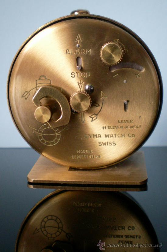 Despertadores antiguos: Reloj Despertador Cima - Foto 2 - 36638362