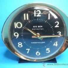 Despertadores antiguos: RELOJ DESPERTADOR BIG BEN DE WESTCLOX. Lote 36861574