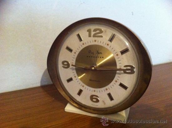 Despertadores antiguos: RELOJ DESPERTADOR VINTAGE - Foto 3 - 36973434