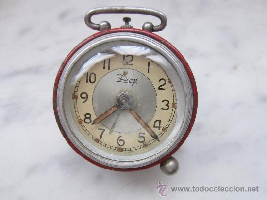 RELOJ DESPERTADOR MINIATURA (Relojes - Relojes Despertadores)