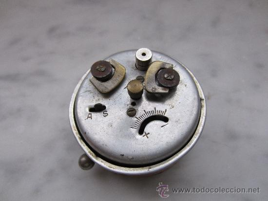 Despertadores antiguos: reloj despertador miniatura - Foto 2 - 37089623