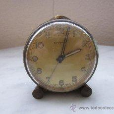 Despertadores antiguos: RELOJ DESPERTADOR MINIATURA . Lote 37089843