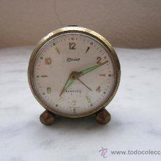 Despertadores antiguos: RELOJ DESPERTADOR MINIATURA . Lote 37089914