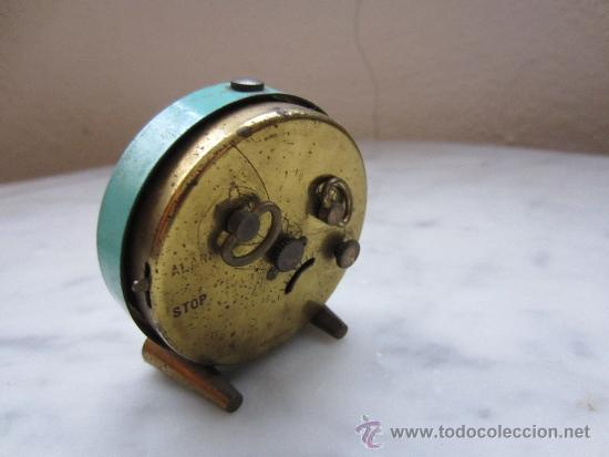 Despertadores antiguos: reloj despertador miniatura - Foto 2 - 37089914