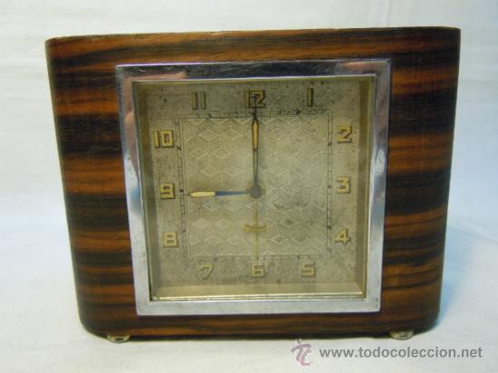 RELOJ DESPERTADOR ART DECO (Relojes - Relojes Despertadores)