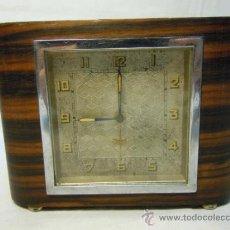 Despertadores antiguos: RELOJ DESPERTADOR ART DECO. Lote 37783924