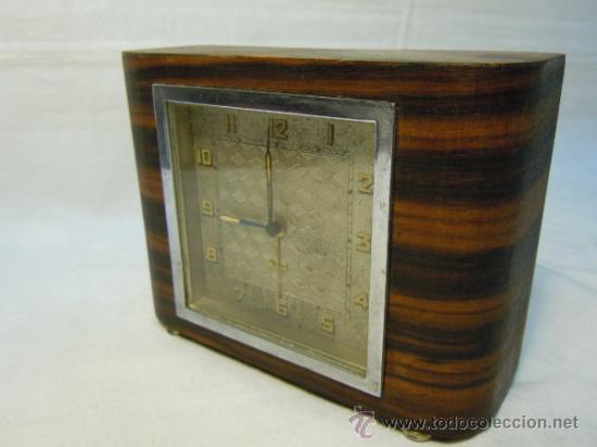 Despertadores antiguos: RELOJ DESPERTADOR ART DECO - Foto 5 - 37783924