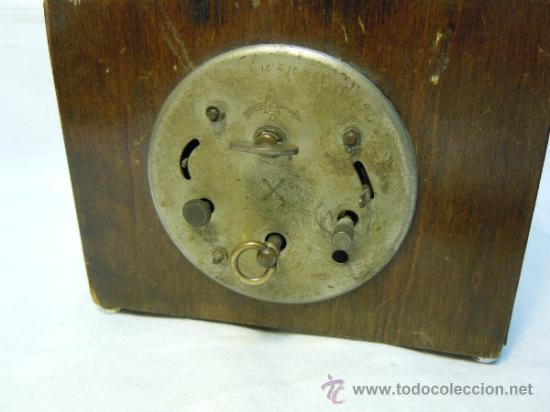 Despertadores antiguos: RELOJ DESPERTADOR ART DECO - Foto 4 - 37783924
