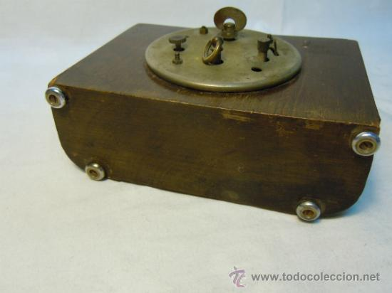 Despertadores antiguos: RELOJ DESPERTADOR ART DECO - Foto 3 - 37783924