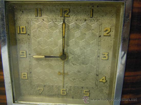 Despertadores antiguos: RELOJ DESPERTADOR ART DECO - Foto 2 - 37783924