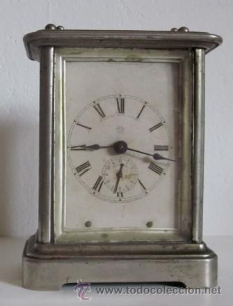 ANTIGUO RELOJ DESPERTADOR ANSONIA - AÑO 1880 (Relojes - Relojes Despertadores)