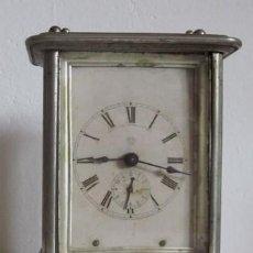Despertadores antiguos: ANTIGUO RELOJ DESPERTADOR ANSONIA - AÑO 1880. Lote 38404189