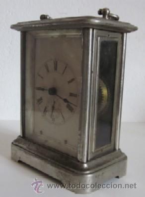 Despertadores antiguos: ANTIGUO RELOJ DESPERTADOR ANSONIA - AÑO 1880 - Foto 3 - 38404189