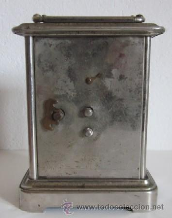 Despertadores antiguos: ANTIGUO RELOJ DESPERTADOR ANSONIA - AÑO 1880 - Foto 5 - 38404189