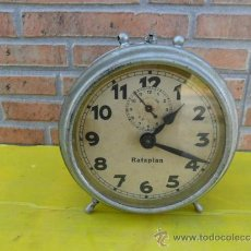 Despertadores antiguos: RELOJ DESPERATDOR ANTIGUO RATAPLAN. Lote 38731333