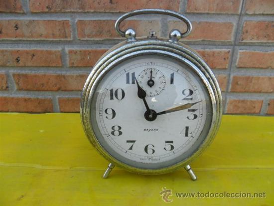 RELOJ DESPERTADOR BAYARD FRANCES (Relojes - Relojes Despertadores)