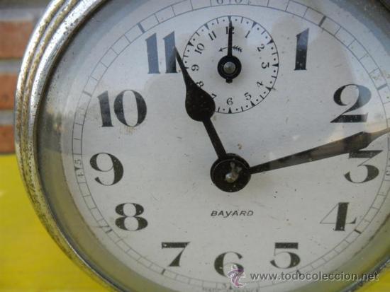 Despertadores antiguos: reloj despertador Bayard frances - Foto 2 - 38731386