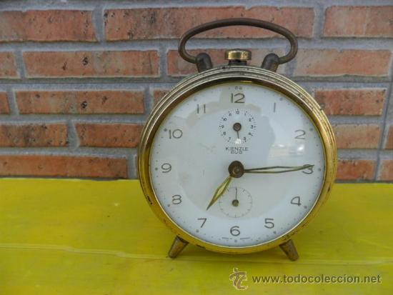 RELOJ DESPERTADORKENZLE DUO (Relojes - Relojes Despertadores)
