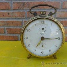 Despertadores antiguos: RELOJ DESPERTADORKENZLE DUO. Lote 38731405