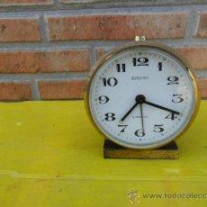 Despertadores antiguos: RELOJ METAL DESPERTADOR DELUXE. Lote 38731429
