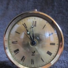 Despertadores antiguos: ANTIGUO RELOJ DESPERTADOR JAZ. CARGA MANUAL. VINTAGE. Lote 39168591
