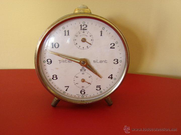 DespertadorPeter En I SilentMade Antiguo Reloj Vendido Venta gyIf7Yvmb6