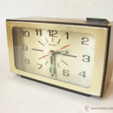 Despertadores antiguos: RELOJ DESPERTADOR ALARMA VINTAGE ORIENT. Lote 39913549