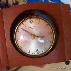 Despertadores antiguos: RELOJ DESPERTADOR DE SOBREMESA ANTIGUO ,. Lote 40132121