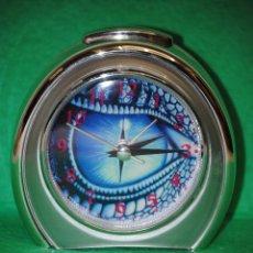 Despertadores antiguos: IMPECABLE RELOJ DESPERTADOR BLUE EYE. Lote 40151424