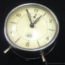 Despertadores antiguos: RELOJ DESPERTADOR ALBA - NO FUNCIONA - CAR43. Lote 40720197