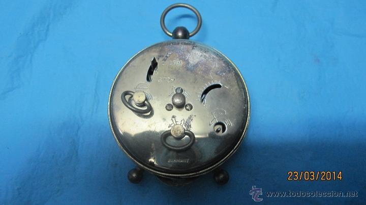 Despertadores antiguos: ANTIGUO DESPERTADOR DE METAL - Foto 2 - 42443167
