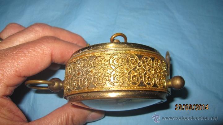 Despertadores antiguos: ANTIGUO DESPERTADOR DE METAL - Foto 5 - 42443167