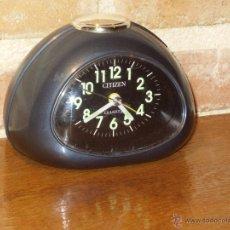 Despertadores antiguos: RELOJ DESPERTADOR MARCA CITIZEN.. Lote 42624330
