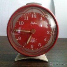 Despertadores antiguos: RELOJ DESPERTADOR XAFIRO ALBA. Lote 42715599