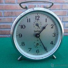 Despertadores antiguos: RELOJ DESPERTADOR REGULADORA. Lote 42727138