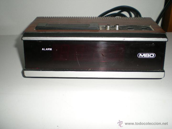 Despertadores antiguos: antiguo despertador aleman electrico digital funciona correcto buen estado años 60 - Foto 5 - 42782389