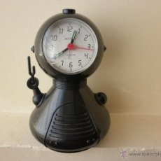 Despertadores antiguos: RELOJ ROBOT DESPERTADOR RHYTHM JAPONÉS DE CUARZO. Lote 42827680