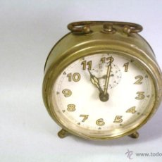 Despertadores antiguos: RELOJ DESPERTADOR ANTIGUO. PARA REPARAR.. Lote 42878000