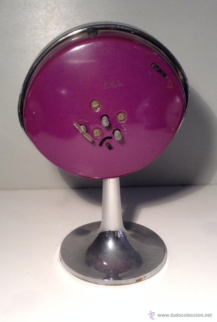 Despertadores antiguos: reloj despertador vintage años 60 big ben westclox decoracion retro SPACE AGE - Foto 2 - 43502126