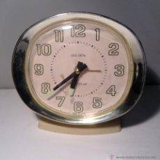Despertadores antiguos: RELOJ DESPERTADOR VINTAGE AÑOS 60 BIG BEN WESTCLOX DECORACION RETRO. Lote 43502755