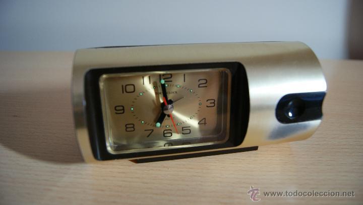 RELOJ DESPERTADOR TOKYO CLOCK QUARTZ FUNCIONA PERFERTAMENTE (Relojes - Relojes Despertadores)