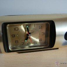 Despertadores antiguos: RELOJ DESPERTADOR TOKYO CLOCK QUARTZ FUNCIONA PERFERTAMENTE. Lote 55089695