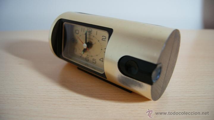 Despertadores antiguos: Reloj despertador Tokyo Clock Quartz Funciona perfertamente - Foto 3 - 55089695
