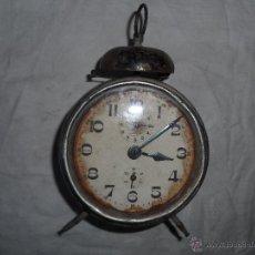 Despertadores antiguos: RELOJ DESPERTADOR DE LA MARCA KIENZLE ALEMAN. Lote 44225131