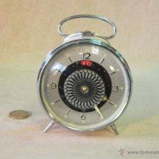 Despertadores antiguos: RELOJ DESPERTADOR A CUERDA. Lote 44343503