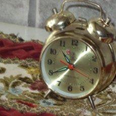 Despertadores antiguos: ANTIGUO RELOJ DESPERTADOR CLASICO.. Lote 44855007