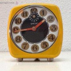 Despertadores antiguos: DESPERTADOR PETER FUNCIONA. Lote 45179769