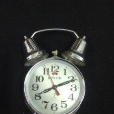Despertadores antiguos: RELOJ DESPERTADOR - SEVENSTAR - CAR55. Lote 45303166